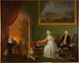 Portrait of Robert Mynors and His Family