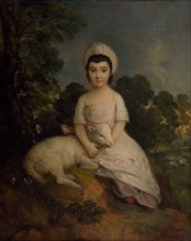 Portrait of Isabelle Bell Franks. Creator: Thomas Gainsborough.