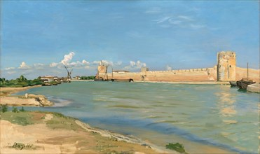 The Western Ramparts at Aigues-Mortes