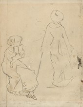 "Study for ""Mary Cassatt at the Louvre"" [verso]"
