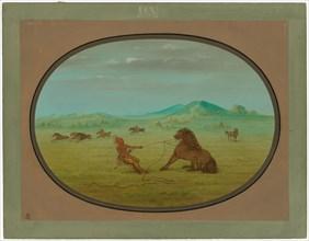 Catching Wild Horses - Pawnee