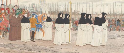 The Maid in Armor on Horseback