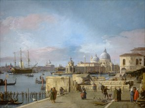 Entrance to the Grand Canal from the Molo
