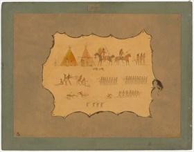Facsimile of a Cheyenne Robe