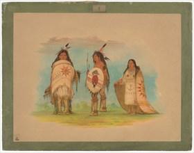 Three Riccarree Indians