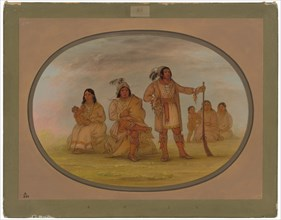 Osceola and Four Seminolee Indians