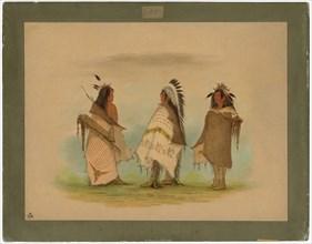 Three Shoshonee Warriors