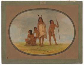 Four Flathead Indians