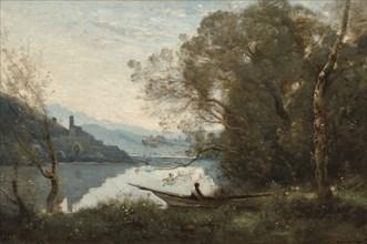 The Moored Boatman: Souvenir of an Italian Lake