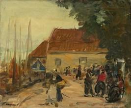Volendam Street Scene