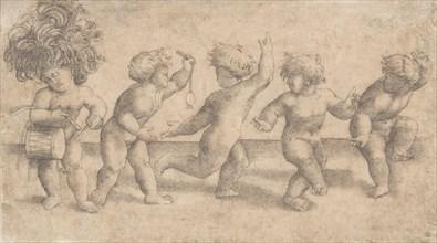 Five Dancing Putti