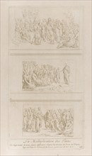 Three separate studies for the miracles of the loaves