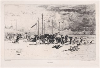 A Squall at Trouville
