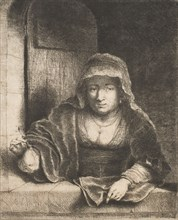Woman with a Pear