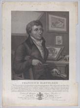Portrait of Francesco Bartolozzi