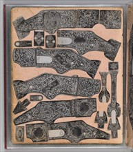 Workbook Recording the Engraved Firearms Ornament of Louis D. Nimschke