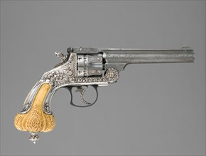 Smith & Wesson .44 Double-Action Frontier Model Revolver decorated by Tiffany & Co