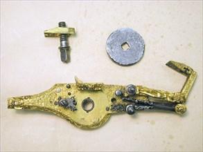 Wheellock Mechanism for a Pistol
