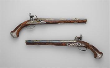 Pair of Flintlock Pistolsof Count Heinrich von Brühl