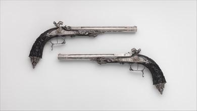 Pair of Percussion Target Pistols for 1844 Exposition des Produits de l'Industrie in Paris