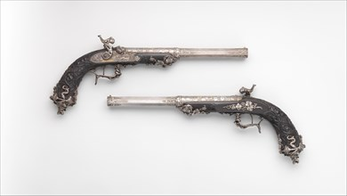 Pair of Percussion Target Pistols for Crystal Palace Exhibition in London