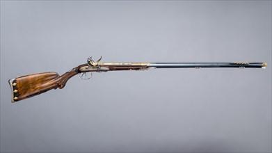 Double-Barreled Flintlock Shotgun