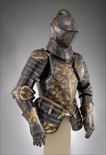 Foot-Combat armour of Prince-Elector  Christian I of Saxony