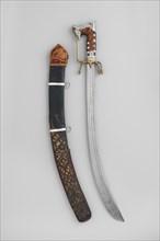 Nimcha with Scabbard...Algerian; blade