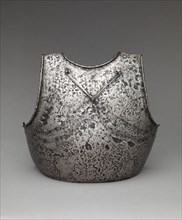 Breastplate with applied stop-rib