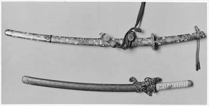 Blade and Mounting for a Short Sword...late 13th-early 14th century...18th-early 19th century. Creator: Naganori.