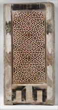 Wall Panel with Geometric Interlace