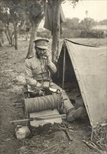 Soldat du génie portugais en novembre 1916