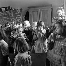 L'école et l'enseignement en France en 1949