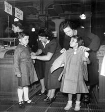 Rentrée des classes en 1950