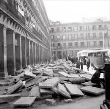 Grève des paveurs à Madrid en 1936