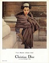 Publicité pour la maison Dior