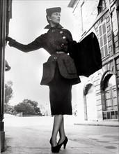 Modèle de la collection Christian Dior en 1950