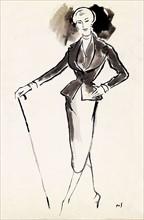 Collection Christian Dior printemps 1950