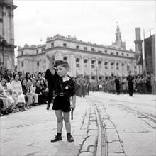 Fête du 15 août 1936 à Séville