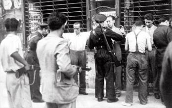 Guerre civile espagnole, 1936