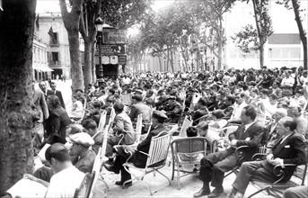 Barcelone pendant la Guerre d'Espagne, en juillet 1936