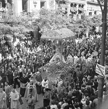 Procession du 15 août 1936 à Séville
