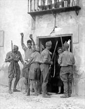 Occupation d' Irun par les nationalistes, en septembre 1936