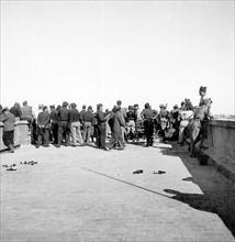 Avancée des troupes nationalistes pendant la Guerre d'Espagne, en 1936