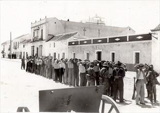 Prisonniers nationalistes pendant la Guerre d'Espagne
