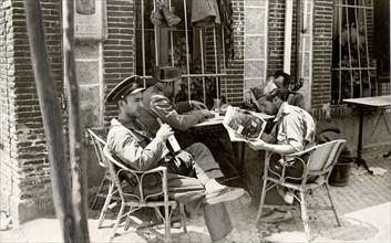 Madrid pendant la Guerre d'Espagne, 1936