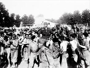 La reddition de Santander le 26 août 1937