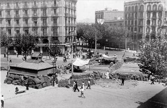 Ville de Madrid pendant la Guerre d'Espagne