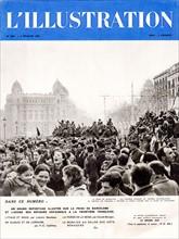 Couverture de L'llustration du 4 février 1939 sur la Guerre d'Espagne