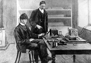 Marconi, Télégraphie sans fil (TSF)